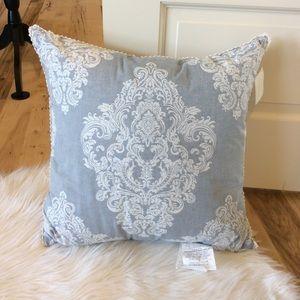 Piper & Wright Pillow Square Indigo 20 x 20 New